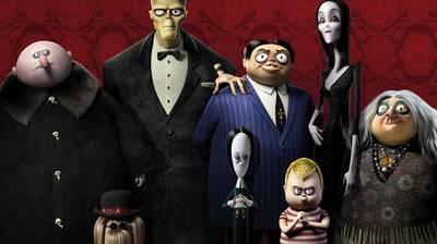 Семейка Аддамс - кадр из мультфильма