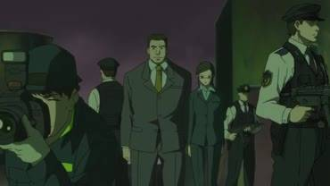 Темнее черного - кадр из аниме