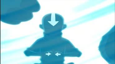 Аватар: Легенда об Аанге - кадр из мультсериала